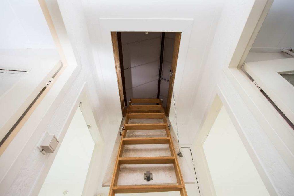 modern wooden loft ladders