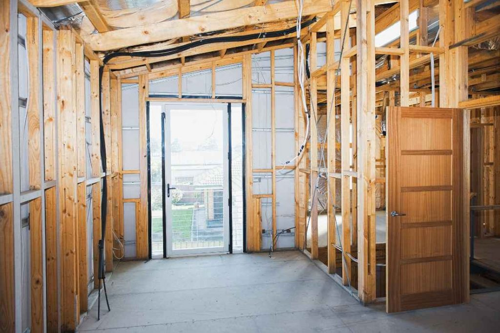 timber frame room construction